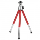 Mini Portable PC + Aluminum Alloy Tripod for DSLR - Red + Silver