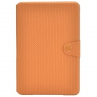 Ball Pattern Protective PU Leather Case Cover Stand for Retina Ipad MINI - Orange