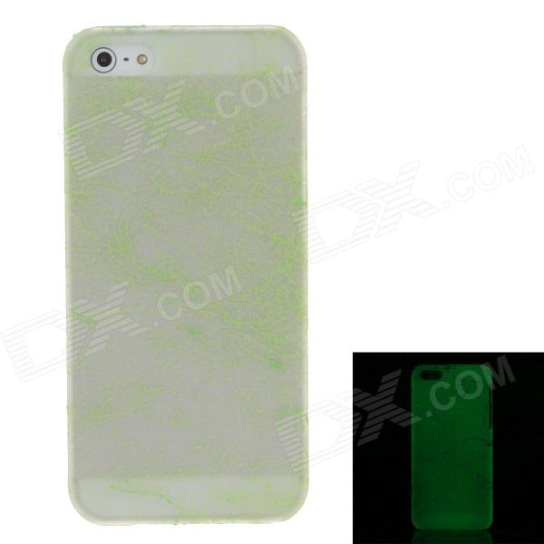 все цены на  Fashion Glow in the Dark Protective Frosted Plastic Back Case for Iphone 5 / 5S - Green  онлайн
