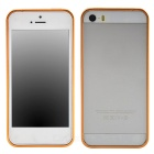 Ultrathin Fashionable Metal Protective Bumper Frame for Iphone 5 / 5s - Golden