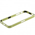 Ultrathin Fashionable Metal Protective Bumper Frame for Iphone 5 / 5s - Green