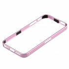 Ultrathin Fashionable Metal Protective Bumper Frame for Iphone 5 / 5s - Purple