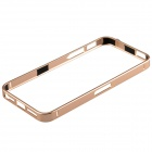 Ultrathin Fashionable Metal Protective Bumper Frame for Iphone 5 / 5s - Champaign Gold