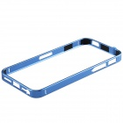 Ultrathin Fashionable Metal Protective Bumper Frame for Iphone 5 / 5s - Deep Blue
