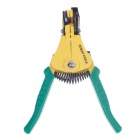 FEIBAO F-D125 High-grade Automatic Pliers - Green + Yellow
