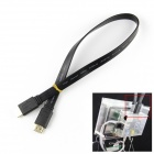 Specified HDMI Male to Male Cable for Raspberry PI - Black (40cm)