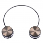 WS-3100 Bluetooth V2.1+EDR Stereo Headphone w/ Microphone - Black + White