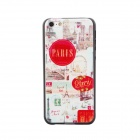 Eiffel Tower -Style Relief Protective PC Back Case for Iphone 5C - Multicolored