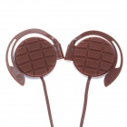 Sibyl G-3 Stylish Stereo Ear Hook Headphones - Brown (3.5mm Plug / 114cm-Cable)