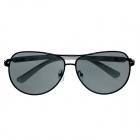 DUWEI 8237 Stylish Plastic Frame Resin Lens UV400 Protection Men's Sunglasses - Black