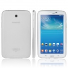 ENKAY TPU Back Case with Anti-dust Plugs for Samsung Galaxy Tab 3 7.0 T210 / T211 / P3200 - White