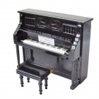 DEDO MG-318 Mini-Musik-Instrument Upright Piano - Schwarz