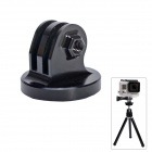"High Precision CNC Aluminum Alloy 1/4"" Tripod Adapter Mount for GoPro Hero3+/Hero3/Hero2 - Black"