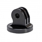 "High Precision CNC Aluminum Alloy 1/4"" Tripod Adapter Mount for Gopro Hero 4/3+/Hero3/Hero2 - Black"