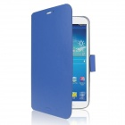 ENKAY ENK-7038 Protective PU Leather Case w/ Stand for Samsung Tab 3 8.0 T310 / T311 - Dark Blue