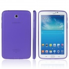 ENKAY TPU Back Case with Anti-dust Plugs for Samsung Galaxy Tab 3 7.0 T210 / T211 / P3200 - Purple