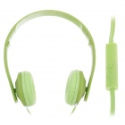 Sibyl y502 Stylish Stereo Headband Headphones w / Microphone - Green (3.5mm Plug / 110cm-Cable)