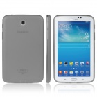 ENKAY TPU Back Case with Anti-dust Plugs for Samsung Tab 3 7.0 T210 / T211 / P3200 - Dark Grey