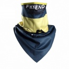 Qinglonglin DE-21 Quick Drying Breathable Cycling Scarf Mask - Navy