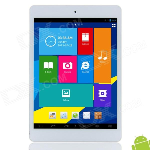 Vido M6 7.9 IPS Android 4.2.2 Intel Atom Z2580 Dual Core Tablet PC w/ 1GB RAM, 16GB ROM - White адаптер dell intel ethernet i350 1gb 4p 540 bbhf