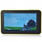 "A70M  7.0"" Android 4.2 Dual Core Tablet PC w/ 1GB RAM, 2.2GB ROM / Wi-Fi / Dual Camera - Yellow"