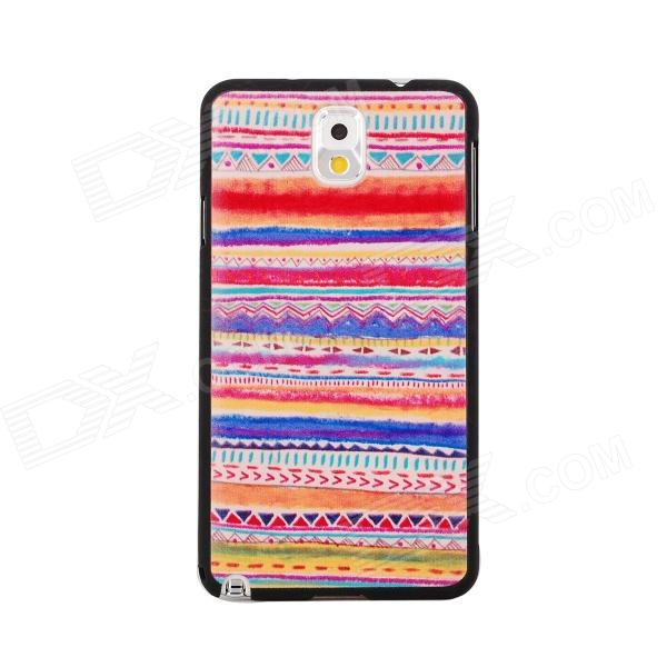 Elonbo J3E3 Dimensional Relief Tribal Ethnic Protective PC Back Case for Samsung Galaxy Note 3 the integration of ethnic kazakh oralmans into kazakh society