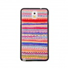 Elonbo J3E3 Dimensional Relief Tribal Ethnic Protective PC zurück Fall für Samsung Galaxy Note 3