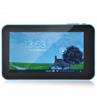 "A70M  7.0"" Android 4.2 Dual Core Tablet PC w/ 512MB RAM 8GB ROM / Wi-Fi / Dual Camera - Blue"