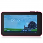 "A70M  7.0"" Android 4.2 Dual Core Tablet PC w/ 512MB RAM 8GB ROM / Wi-Fi / Dual Camera - Deep Pink"