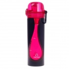 ROLASE RT-6813 High-quality Leak-proof Elastic Cover Bottle - Red + Black (350mL)