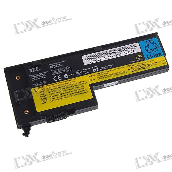 IBM X60 Compatible 2600mAh Replacement Battery for Thinkpad X60/X60S/X61/X61S Series