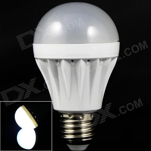 LED E27 5W 200lm 6500K 18 x SMD 2835 White Light Lamp Plastic Bulb - White (220V)