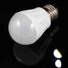 E27 3W 150lm 10 x SMD 2835 6500K LED White Light Lamp Plastic Bulb - White (220V)