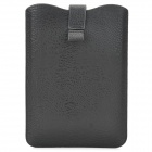 LZK-2 Protective PU Leather Pouch w/ Strap Buckle for Retina Ipad MINI - Black