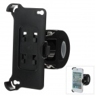 M09 360 Degree Rotation Holder Bracket w/ Back Clamp for Iphone 4 - Black
