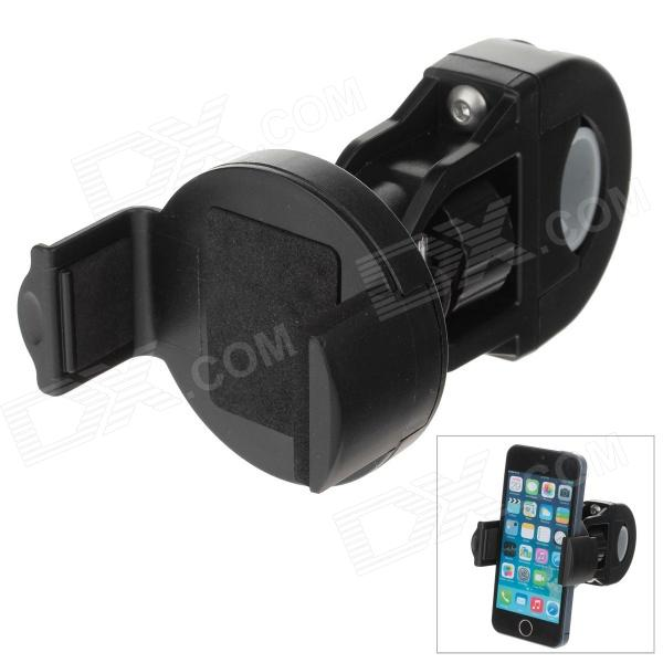 M09 360 Degree Rotation Mount Holder Bracket w/ C46 Universal Back Clamp - Black