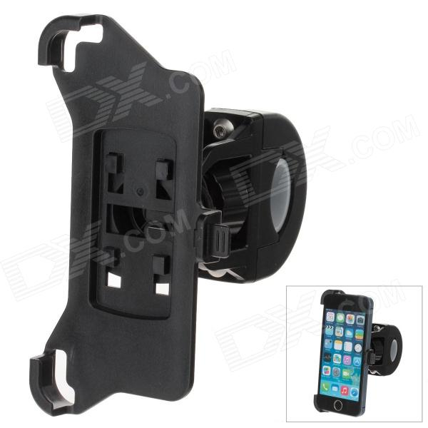 M09 360 Degree Rotation Holder Bracket w/ Back Clamp for Iphone 5 / 5s - Black