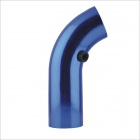 XH-1660 Universal Car Aluminum Alloy Air Intake Pipe - Blue (76mm)