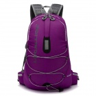 Locallion multifunktionale Outdoor-Nylon-Rucksack - Dark Purple (25L)