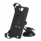 H60 360 Degree Rotation Holder Mount Bracket w/ Suction Cup for Samsung Galaxy Note i9220 - Black