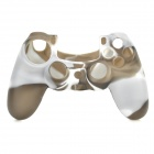 Protective Silicone Case for PS4 Controller - Grey + White