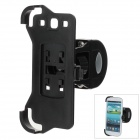 M09 360 Degree Rotation Holder Bracket w/ Back Clamp for Samsung Galaxy S3 i9300 - Black