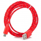 USB 2.0 Data / Charging Cable for Google Nexus 7 II / Nexus 7 - Red (200cm)