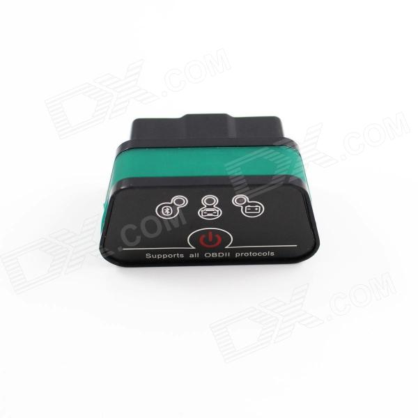 Super Mini iCar2 Vehicle Bluetooth OBD-II Code Diagnostic Tool / Clearer - Black + Green differential diagnosis and diagnostic algorithm of infectious diseases in children the practical gu