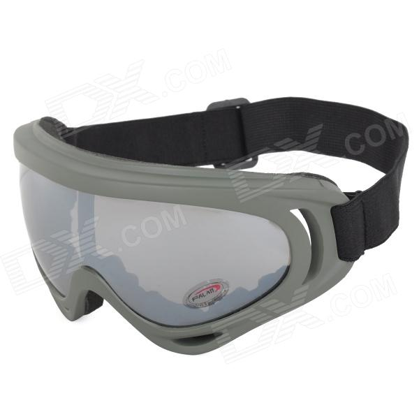 X400 Outdoor Tactical PC Lens TR90 Frame Windproof Googles - Army Green fire maple sw28888 outdoor tactical motorcycling wild game abs helmet khaki
