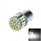 1156 / BA15S / P21W 5W 300lm 50 x SMD 3020 LED White Car Tail Light / Signal / Backup Lamp - (12V)