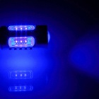 1156 / BA15S / P21W 7.5W 500lm 5-LED Blue Car Steering Light / Tail Light / Signal light- (12~24V)