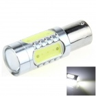1156 / BA15S / P21W 7.5W 400lm 5-LED White Car Steering Light / Tail Light / Signal light - (12~24V)