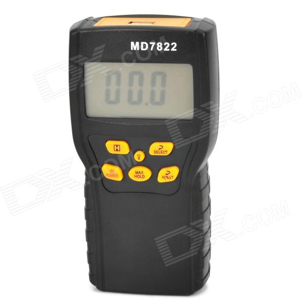 7822 2.4 LCD Grain Moisture Tester - Ash Black grain moisture meter lcd display digital grain moisture tester contains wheat corn rice humidity tools atc and backlight