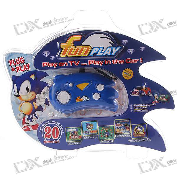 20-in-1 TV Games - Gamepad Controller and TV-out Console in One (3*AAA)